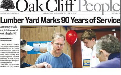 Oak Cliff People Celebrates with Davis-Hawn