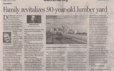 Davis Hawn in Dallas Morning News!